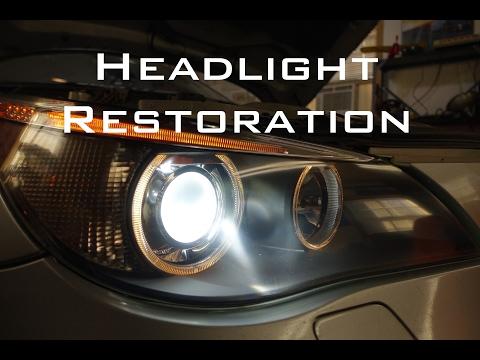 Headlight Restoration DIY - EASY!