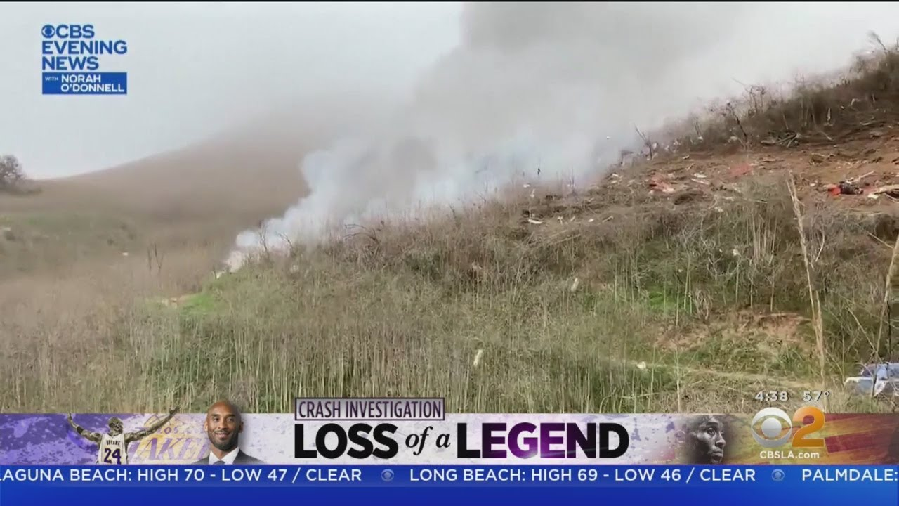 CBS News Exclusive: New Video Shows Scene Immediately After Kobe Bryant's Helicopter Crashes См