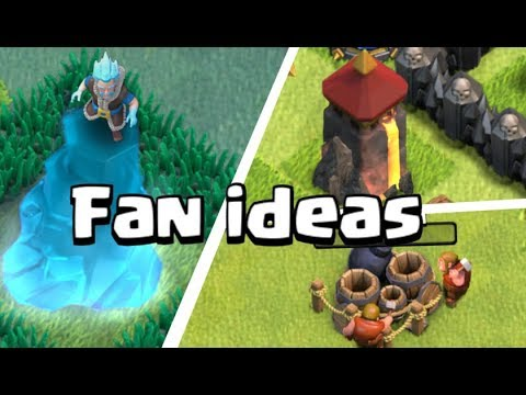 Clash of Clans Fan ideas #5 (World of Clash collab)