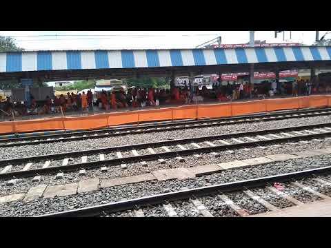 Jasidih Station (Deoghar) during sraban