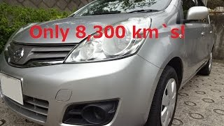Tokyo - Nissan Note for Sale only 7,800 km`s driven