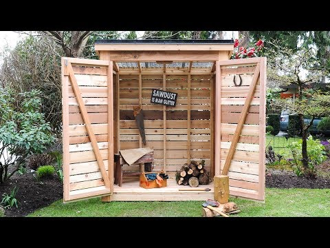 DIY: How To Build a Cedar Shed – Say Goodbye to Garage & Backyard Clutter