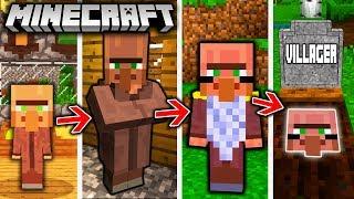 SPIDER-MAN LEBENSZYKLUS in Minecraft - Von einer SPINNE zum MUTANTEN