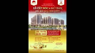 Thiệp Mời Dự Án Golden City Tây Ninh
