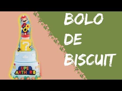 Bolo de Biscuit - DICAS E TRUQUES - Diy