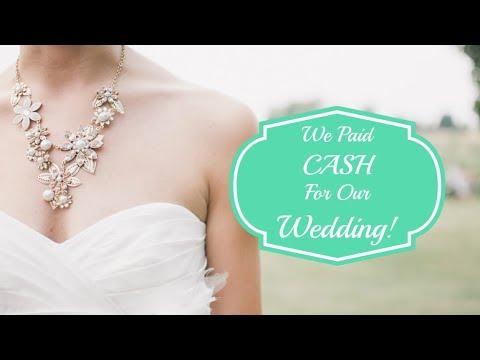 We Were UNDER BUDGET For Our Wedding!   Wedding Budget Breakdown