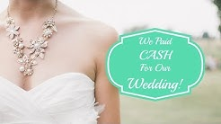 We Were UNDER BUDGET For Our Wedding! | Wedding Budget Breakdown