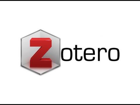 การติดตั้งและการใช้งานโปรแกรม ZOTERO