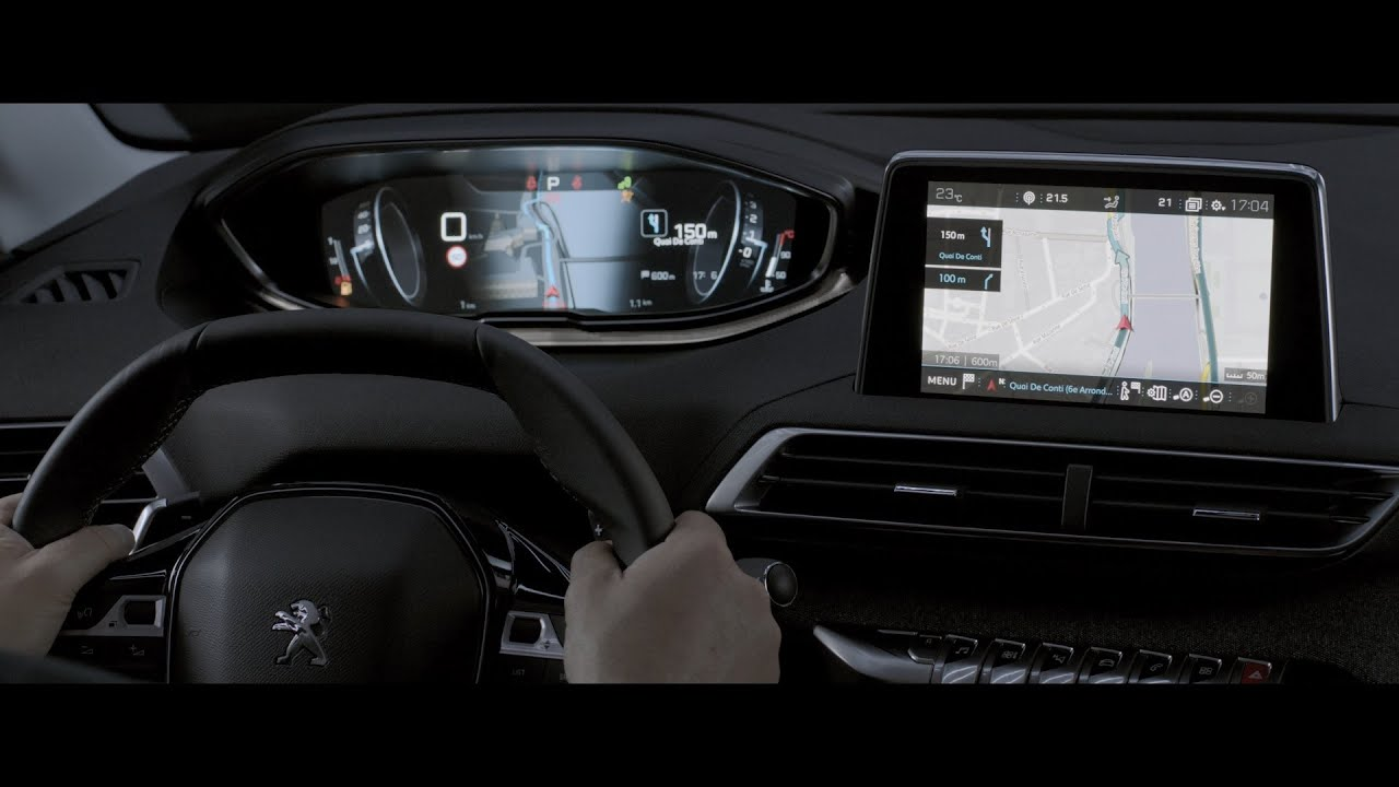 the new peugeot 3008 i cockpit youtube. Black Bedroom Furniture Sets. Home Design Ideas