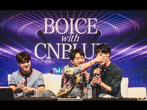150318 CnBlue's Brothers Moment at Fan Meeting in Yokohama