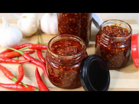 CHILI GARLIC SAUCE   Mapapa-wow ka sa Anghang at Sarap! Easy Chili Garlic OIL Recipe