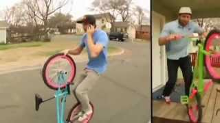 A BMX Flatland Adventure Slow Motion (Aaron Ross & Terry Adams) people awesome