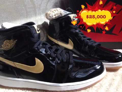 5472aa3bbc3148 Top 10 most expensive Air Jordan s ever sold - YouTube