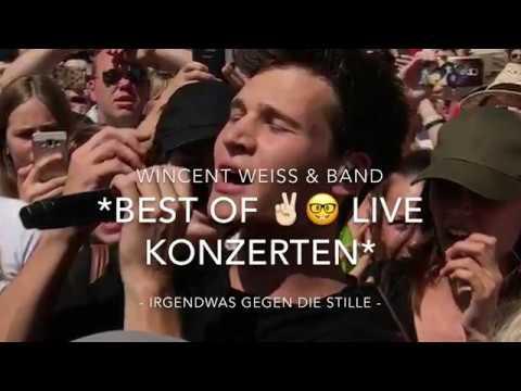 Wincent Weiss & Band - Live Tour 2017 - Irgendwas gegen die Stille - Best of 🤓✌ Live Konzerten
