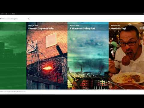 Two Free WordPress Photography Themes