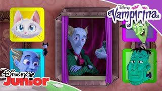 🏚️ Haunted House Challenge   Vampirina   Disney Junior UK