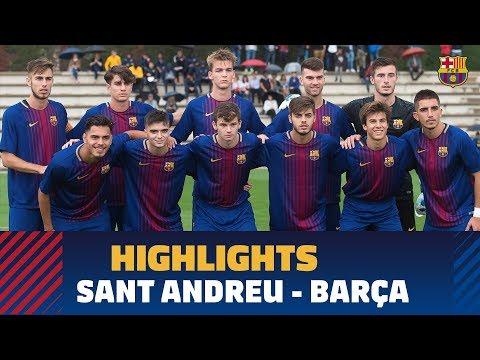 [HIGHLIGHTS] FUTBOL (Juvenil A): Sant Andreu - FC Barcelona (0-3)