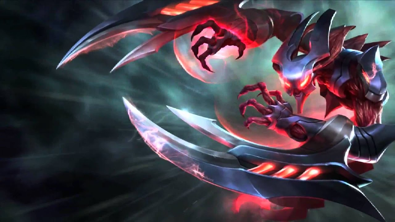 Eternum Nocturne League Of Legends Login Screen With Music - YouTube