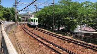 神戸電鉄1100系1151F 準急新開地行 湊川駅〜長田駅間