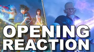 Kingdom Hearts III Opening Movie Reaction