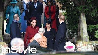 Kate Middleton and Meghan Markle at Christmas Day Church service | InStyle