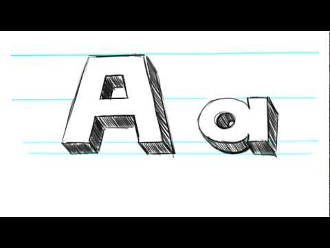 M Alphabet In 3d ... ] How-to-draw-3d-letters-m-uppercase-m-and-lowercase-m-in-90-seconds