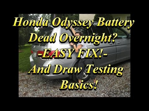 Odyssey Battery Drain Fix and Draw Testing Basics