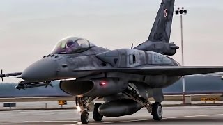 Polish F-16 Fighter Jets • These Pilots Have Skills