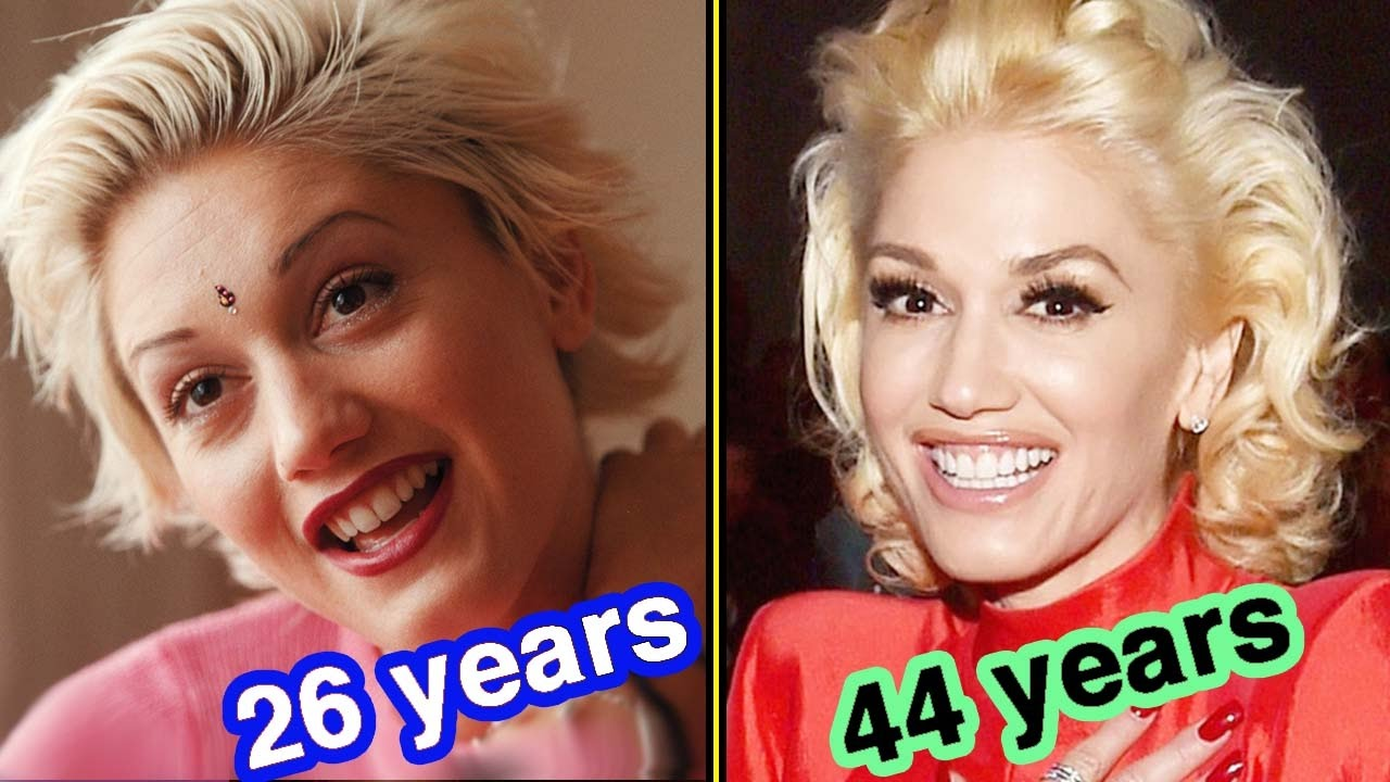 Gwen Stefani Through The Years In 60 Seconds Youtube
