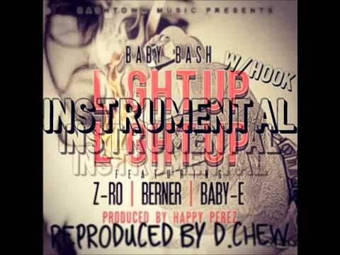 Baby Bash - Light Up Instrumental Remake w/Hook (Reproduced by D.Chew)