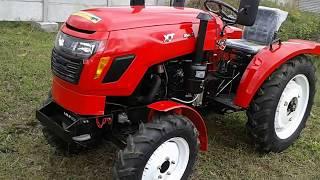 Купить Мини-трактор Xingtai-244 (Синтай-244) с усилителем руля часть 1 minitrak.com.ua(, 2017-10-06T13:21:17.000Z)