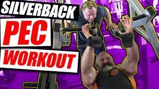 Silverback Pec Super Pump Chest Workout