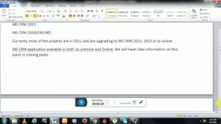 ms crm tutorials for beginners mscrm introduction