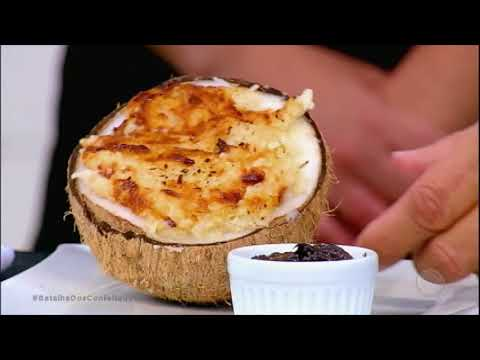 Rita capricha em sobremesa com coco e vence desafio