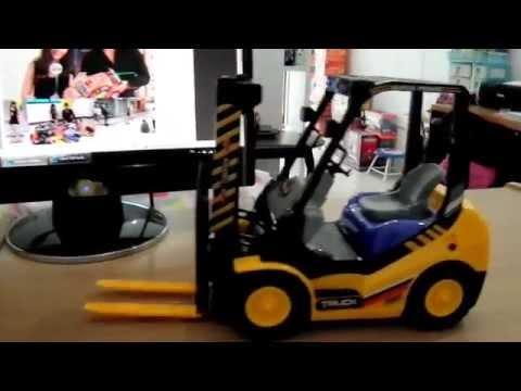 BIG Scale RC Forklift 6Ch.1:10 รถยกไฟฟ้าบังคับ