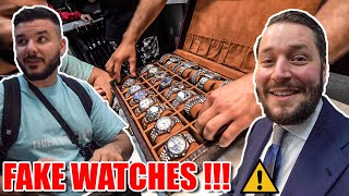 Fake watches with @Canbroke 🕌 Trip to Istanbul