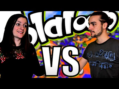 GUILLAUME VS KIM | SPLATOON 1vs1 MAP RECOUVERTE A 100 % ? Episode 151 Wii U FR