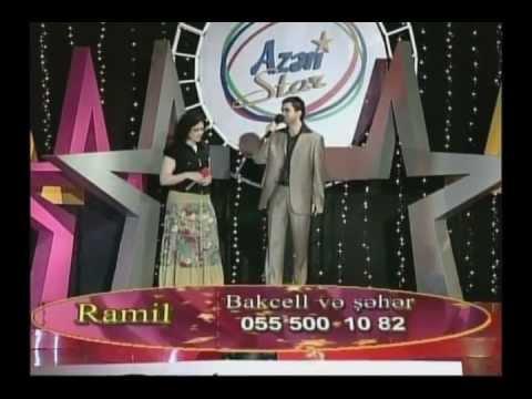 Azeri Star  Ramil bagirov ve Ulviyye Tağiyeva  Duet