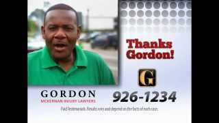 Louisiana Car Wreck Lawyer | I Get Gordon | Gordon McKernan Injury Attorneys | Reginald