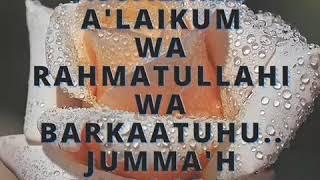 Assalamu Alaikoum