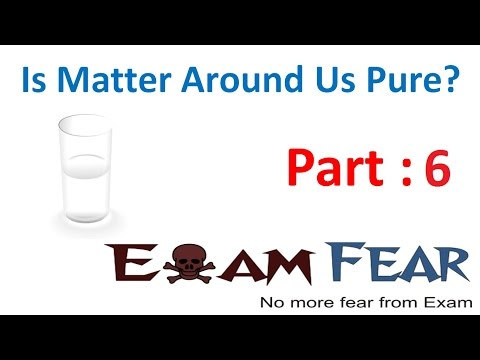 Chemistry Is Matter Pure part 6 (Solubility of Solution) CBSE class 9 IX