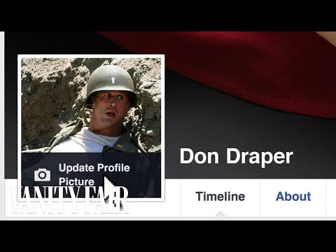 What It Would Look Like If Don Draper Joined Facebook