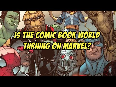 Is the Comic Book World Turning on Marvel? | The Comics Pals Episode 46
