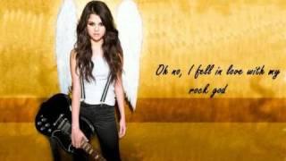 Selena Gomez & The Scene - Rock God (with lyrics)