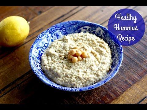 Healthy Low Calorie Hummus Recipe | UK Dietitian Nichola Whitehead