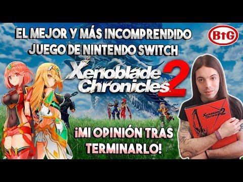 XENOBLADE CHRONICLES 2 EL MEJOR y más INCOMPRENDIDO juego de SWITCH | Opinión tras terminarlo