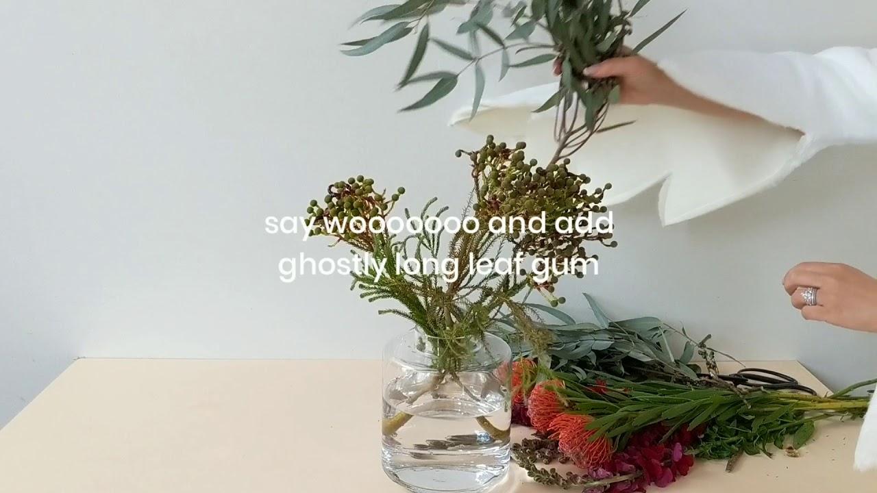 Spooky Halloween Themed Flower Arrangement Youtube