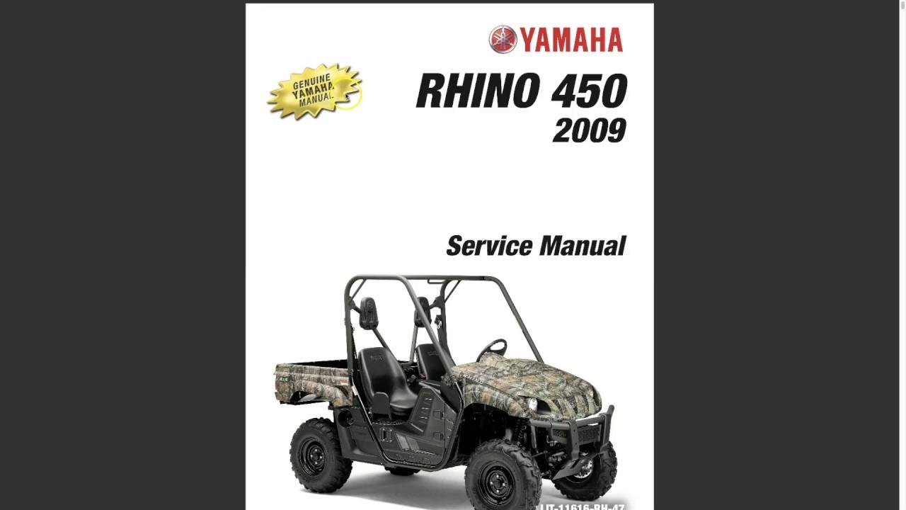 Yamaha Rhino 450 Idles Rough Youtube
