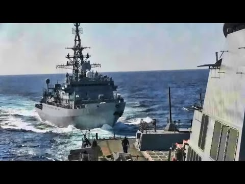 Russian Ship Attempts To Intimidate The U.S. Navy