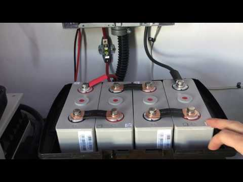 LightHarvest Solars Lithium battery for our urban off-grid s